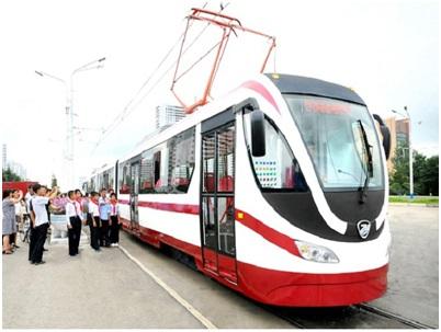 Трамвай нового типа.