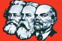 Основа учения о классовой борьбе Маркса, Энгельса и Ленина