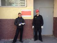 на фото комсомолец Андрей и третий секретаря ВМО КПРФ Сустова Александра Геннадьевича